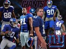 New York Giants Team Wallpaper 4x3
